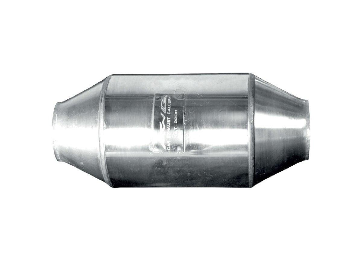 Katalizator uniwersalny FI 60 2-3L EURO 4 - GRUBYGARAGE - Sklep Tuningowy
